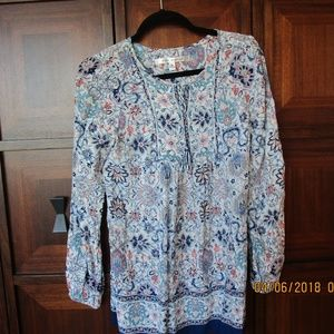 Women's Pullover Long Blouse/Tunic